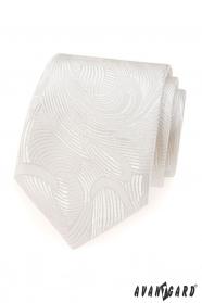 Kravata se smetanovým nádechem LUX
