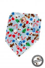 Vánoční bavlněná kravata