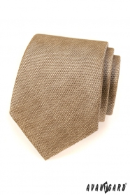 Pánská kravata Avantgard béžová