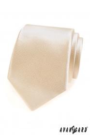 Jednobarevná kravata v barvě Ivory