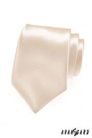 Pánská kravata odstín Ivory