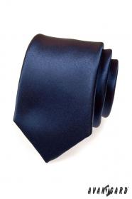 Kravata tmavě modrá NAVY