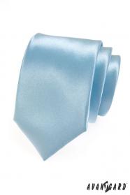 Pánska kravata ledová modrá