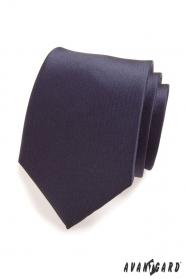 Pánská kravata v modré Navy MAT