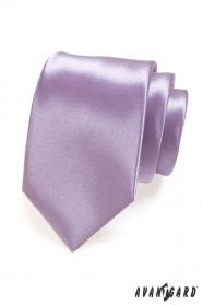 Kravata hladká lila