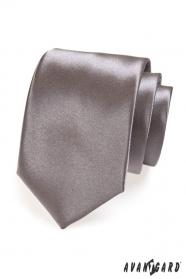 Grafitová kravata pro muže