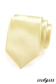 Kravata žlutá hladká