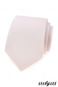 Pánská kravata Avantgard pudrové barvy
