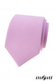 Matná kravata v barvě lila