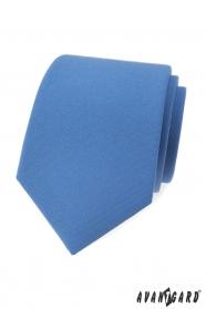 Světle modrá, matná kravata