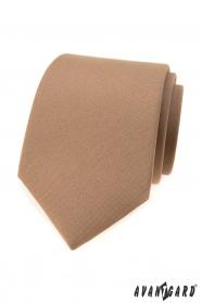 Pánská světle hnědá kravata