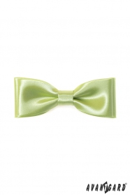 Klasický pánský motýlek limetková zelená