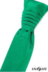 Smaragdová svatební kravata regata