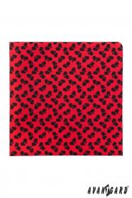 Červený kapesníček Černé jízdní kolo