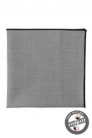 Černobílý kapesníček ze 100% bavlny