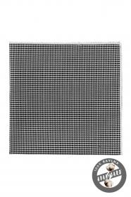 Pánský kapesníček bavlna černý puntík