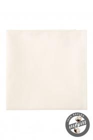 Pánský kapesníček smetanovém odstínu 100% bavlna