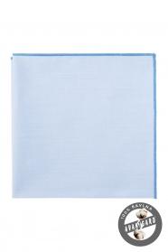 Modrý pánský kapesníček bavlna