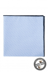 Kapesníček modrý černý bavlna