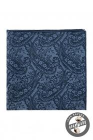 Bavlněný pánský kapesníček paisley vzor