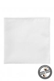 Pánský kapesníček z bavlny bílý