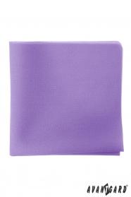 Pánský kapesníček v barvě lila