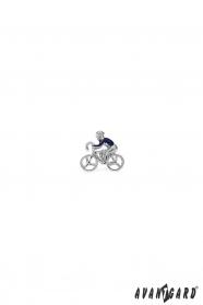 Špendlík do klopy saka - Cyklista