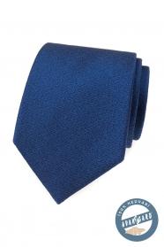 Elegantní modrá hedvábná kravata