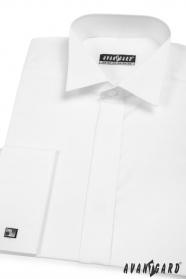 Pánská fraková košile na manžetové knoflíčky