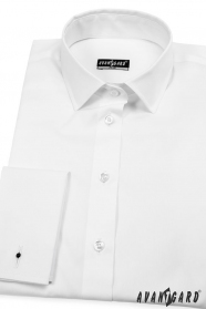 Bílá dámská košile na manžetové knoflíčky