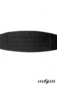 Černý smokingový pás