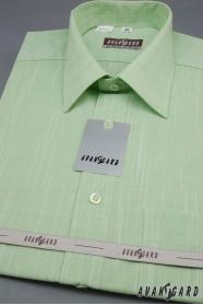 Zelená pánská košile Kiwi krátký rukáv