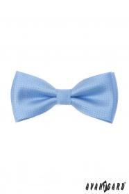 Modrý motýlek s lesklým vzorem + kapesníček