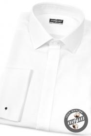Bílá košile 100% bavlna na MK