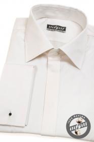 Pánská košile na manžetové knoflíčky bavlněná
