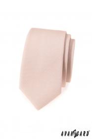 Pánská kravata slim v barvě Ivory