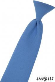 Modrá chlapecká kravata 31 cm
