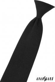 Černá chlapecká kravata 31 cm