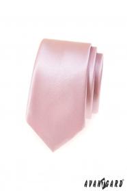 Pánská kravata SLIM v pudrové