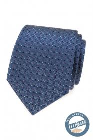Luxusní hedvábná kravata s barevným vzorem