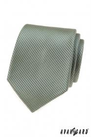 Olivově zelená kravata