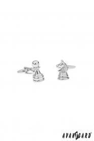 Manžetové knoflíčky Šachy