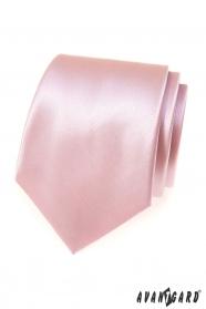 Pánská kravata Růžová/Pudrová