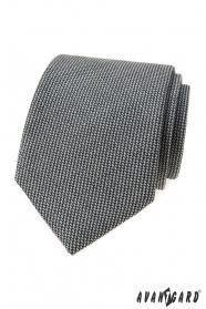 Šedá kravata LUX