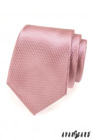 Kravata AVANTGARD pudrová