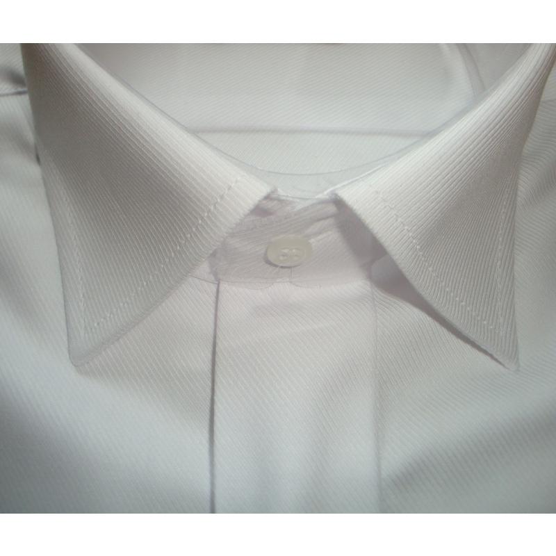 Bílá svatební košile na manžetové knoflíčky ANREDE - Galamodino.cz e02e54583d