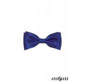 Motýlek chlapecký modrá lesk - 10 cm
