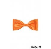 Pánský motýlek - Oranžová - 12,5 cm